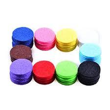 <b>Aromatherapy</b> Necklace Locket Diffuser <b>Refill Pads</b> for <b>Essential Oils</b> ...
