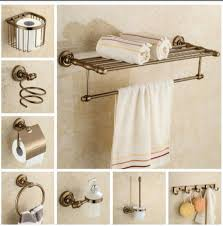steel bathroom accessories set retainl promotions font free shipping aluminium bathroom accessories set antique robe hookpape