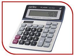 Купить <b>калькулятор perfeo silver pf_a4028</b> онлайн с доставкой ...