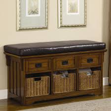 image entryway furniture storage small storage bench with baskets cheap entryway furniture