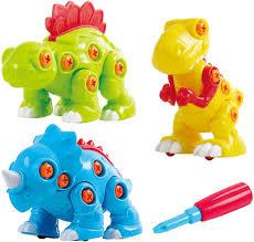 <b>Playgo</b> Конструктор <b>Собери</b> динозавра 3 в 1 — купить в ...