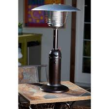 heater table aaad: fire sense  btu hammered bronze tabletop propane gas patio heater  the home depot