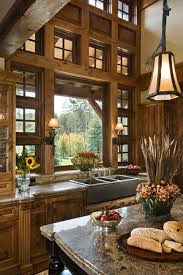 sink windows window love: love this kitchen all wood nice focal point from the sink window huge