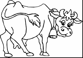 Small Picture Fabulous big cow coloring page with cow coloring page