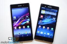Обзор-сравнение Sony Xperia Z1 и Xperia Z