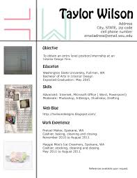 interior design resume template sample resume of interior design interior design resume objective