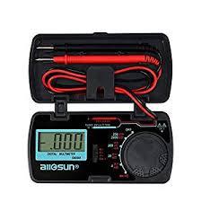 <b>EM3081 Digital Multimeter</b> Measuring DC and AC Voltage Ammeter ...