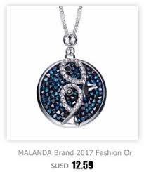 Malanda Фирменная Новинка Мода Сердце Форма кристаллами ...