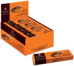 «OZera», <b>шоколадный батончик Milk</b> Caramel, 50 г – купить по ...