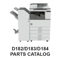 Lanier MP 2553 Parts List and Diagrams