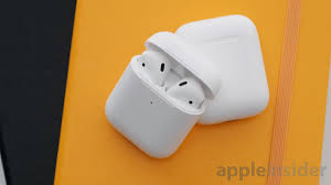 <b>AirPods</b>, <b>AirPods 2</b>, or <b>AirPods 2</b> with the wireless charging <b>case</b>