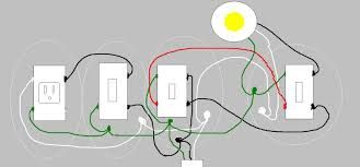 adding a switch single outlet to existing 3 way light am i correct my diagram i know i have wires going incorrectly to one side or the other and be the top pole vs the bottom pole if so