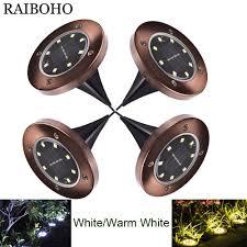 4PCS/LOT <b>8LED Solar</b> Light Waterproof <b>Outdoor Solar</b> Power ...