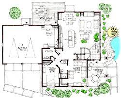 MODERN  Efficient Open Design in a Solar HomeView Reverse Floor Plan Image