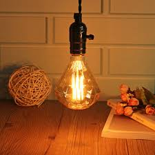 e27 <b>40w</b> g95 warm white diamond retro edison light <b>bulb ac220</b> ...