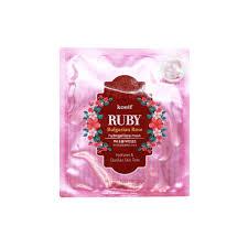 <b>Гидрогелевая Маска</b> с Розой и рубиновой пудрой, <b>KOELF</b>, Ruby ...
