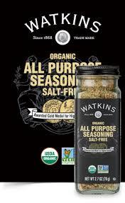 Organic <b>All Purpose Seasoning Salt Free</b> | Watkins 1868