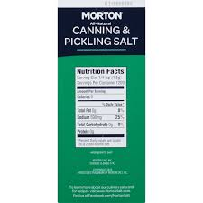 morton canning pickling salt lbs com