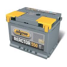 Аккумулятор <b>Аком</b> Реактор <b>55 ач</b> оп - Аккумуляторный магазин