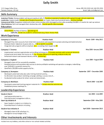 Management Consulting Resume