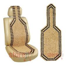 Buy <b>Car Wooden Bead</b> Seat Acupressure Design Universal Size ...