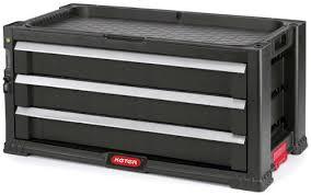 Купить <b>Ящик для инструментов KETER</b> 3 Drawers Tool Chest Set ...