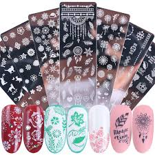 <b>Трафареты для дизайна</b> ногтей JISTZN01-12 - купить недорого в ...