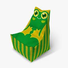 Купить детский <b>пуфик</b> мешок «Лягушка» в Москве / <b>Пуфофф</b>.ру