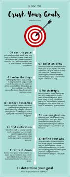 best ideas about achieving goals steps to become a better goal setter infographic