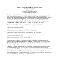 statement of qualification template png s report uploaded by naila arkarna