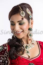 indian stani party makeup hair jewelry style bridals by singar studios 11