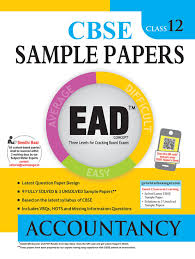 u like economics sample papers solutions for class  ead accountancy 12