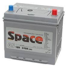 Автомобильные аккумуляторы <b>Space</b> 6СТ-65VLA 75D23L <b>Asia</b> в ...