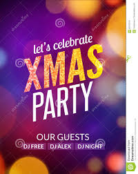 lets celebrate xmas party design flyer template multicolored lets celebrate xmas party design flyer template multicolored bokeh lights background holiday festive christmas