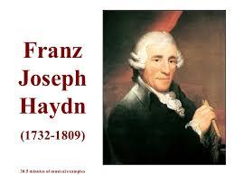 Resultado de imagen de Joseph Haydn