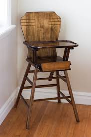 diy refinish an antique highchair antique high chairs wooden