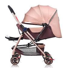 5.8<b>kg Lightweight</b> Baby Stroller Portable <b>Luxury</b> Trolley Travel Pram ...