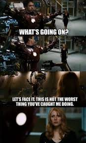 Iron Man Funny on Pinterest | Iron Man Quotes, Iron Man Memes and ... via Relatably.com