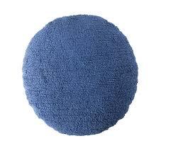 <b>Подушка Большая</b> точка синяя d50