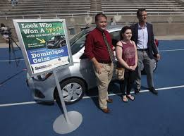 qhs grad wins new wheels in quincy mall shottenkirk promotion qhs grad wins new wheels in quincy mall shottenkirk promotion