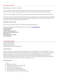 accounting internship resume no experience smlf accounting samples cover letter accounting internship resume no experience smlf accounting samplessample cover letter for finance internship