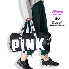 2019 Alphabet <b>Gym Bags</b> For <b>Women Fitness</b> Shoes Space <b>Hand</b> ...