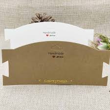 NEW DIY <b>Kraft</b> Chocker <b>Necklace Card</b> Handmade With Love <b>Card</b> ...