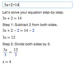 Help with algebra   Ict ocr coursework help