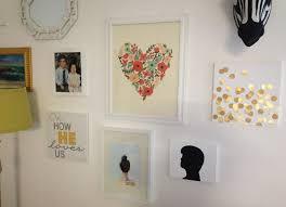 easy home decor idea: fancy wall decor idea with grand easy diy art design of family interior photos and
