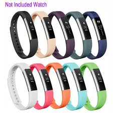 <b>Replacement Silicone Wrist</b> Band Strap For Fitbit Alta Fitbit Alta HR ...