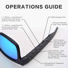 LMST <b>Smart Bluetooth glasses Bluetooth</b> 5- Buy Online in Jamaica ...