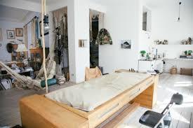 mira schrder designer berlin desk bed office pattern bed in office