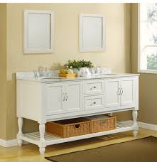 open bathroom vanity cabinet: direct vanity d ww c quot pearl white mission style double bathroom vanity sink console with turn legs and carrera marble top