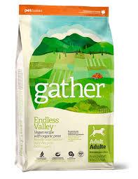 Petcurean <b>Gather Endless Valley Dog</b> Food Vegan R 6Lbs (Cs=4 ...